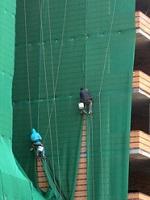 Монтаж строительной сетки