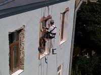 Фасадные работы альпинисты