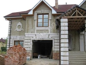 Стоимость мокрого фасада 1м2