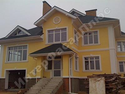 Ремонт мокрого фасада