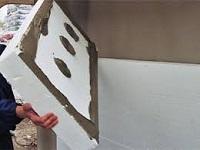 Утепление стен полистиролом