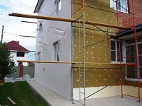 Фасадная штукатурка стен