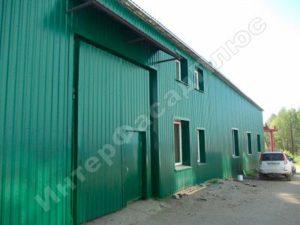 Обшивка стен металлопрофилем цена