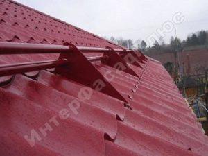 Монтаж снегозадержателей Зеленоград