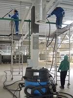 Уборка производственных предприятий
